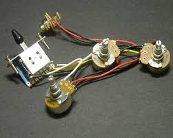 dragonfire strat wiring harness 5 way blade switch 250k full