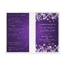 christmas wedding programs wedding save the date winter sparkle purple card