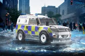 Land Rover Defender Police 2019 Render Car Renders