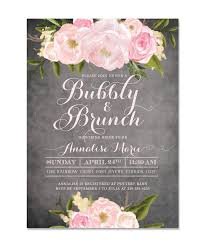 chagne brunch invitations bridal shower baby birthday baptism invitation sea paper designs