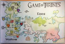 Map Westeros No Spoilers A Map Of Westeros And Essos It U0027s Not Perfect But