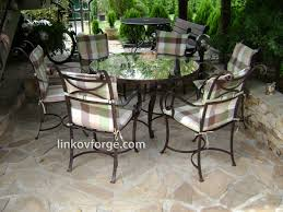 wrought iron garden table and chairs step by step blacksmith linkov