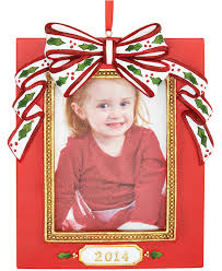 holiday lane 2014 red photo frame christmas ornaments holiday