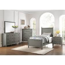 Antique Gray Classic  Piece Twin Bedroom Set Aviana RC Willey - Bedroom sets at rc willey