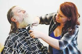 Makeup Artist In Denver Hundreds Get Assistance At Homeless Veterans Stand Down In Denver