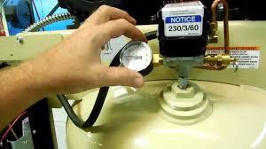 ingersoll rand 80 gallon 5hp compressor 45081 youtube