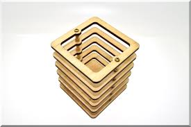 wooden pen pencil holder u201csquare u201d desk organizer wood desk