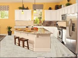 white kitchen cabinets black tile floor need help deciding white or kitchen cabinets with tile