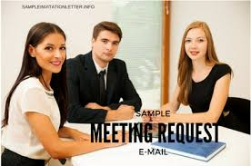 meeting request email u2013 how to write one with samples