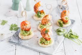 avocat cuisine bouchées aux crevettes escal et avocat cuisine addict cuisine