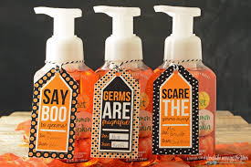 halloween gift tags for soaps and sanitizers eighteen25