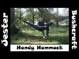 bushcraft the handy hammock review youtube