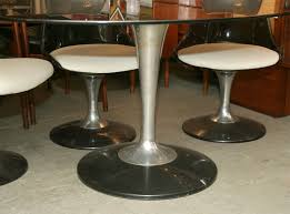chromcraft dining set at 1stdibs