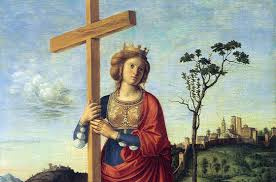 the 80 year old woman who discovered the cross upon which jesus