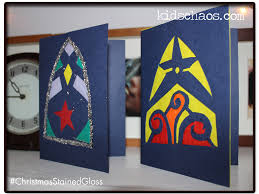 christmas cards stained glass kidschaos com