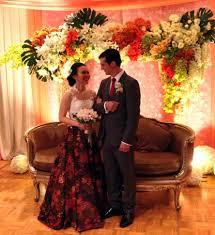 batik wedding dress by gladicious bridestory com
