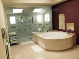 Maroon Wall Paint Bathroom Cool Image Of Small Bathroom Interior Decoration Using