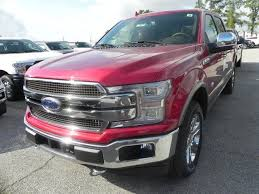 2018 ford f150 king ranch 5 miles ruby red crew cab pickup twin
