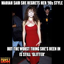 Mariah Carey Meme - mariah carey blames glam squad for her 90s look dish nation
