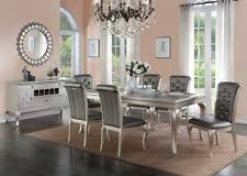 Dining Room Table 6 Chairs Dining Furniture Sets Ebay