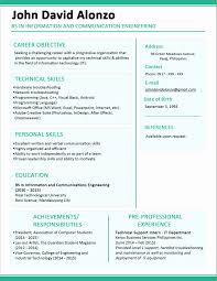 sle resume for college students philippines 53 fresh collection of tagalog resume format resume concept