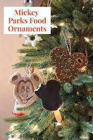 mickey parks food ornaments disney family