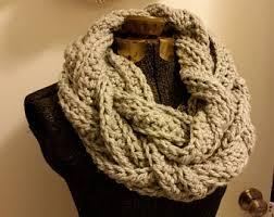 braided scarf chunky braided scarf etsy