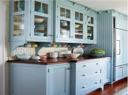 Log Home Kitchen Cabinets - log cabin painted kitchen cabinets