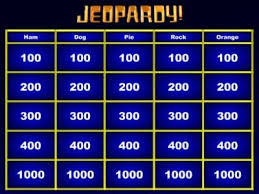 Powerpoint Jeopardy Template With Sound Powerpoint Jeopardy Template Jepordy Template