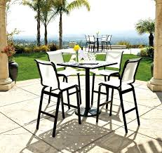 outdoor bar height table and chairs set idea outdoor furniture bar sets or dining 43 outdoor bar height