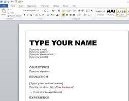 Creative Online Resumes basic resume templates free template free creative resume builder