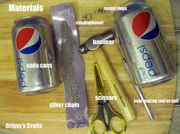 113 best soda can crafts images on pinterest metal embossing