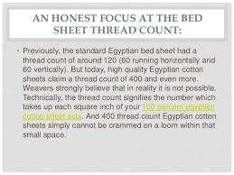what is a good bed sheet thread count does the bed sheet thread count 100 egyptian cotton sheets