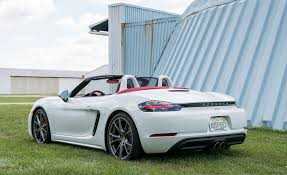 porsche boxster 2017 2017 porsche 718 boxster cars exclusive videos and photos updates