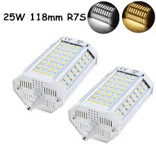led flood light replacement 25w j type double ended 118mm r7s led light 200w halogen r7s