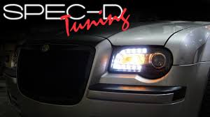 old chrysler grill specdtuning installation video 2005 2010 chrysler 300c