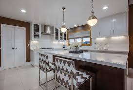 kitchen design ideas open shelves industrial hanging light modern