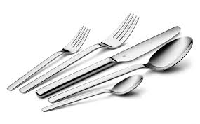 wmf kitchen knives wmf dune stainless steel flatware set 20 cutlery and more
