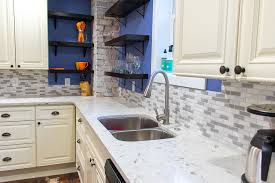 what color backsplash with white quartz countertops tropical white quartz