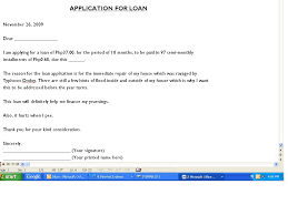 Authorization Letter Meralco Application Application Letter Tagalog