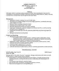 Musicians Resume Template Resume Best Template Collection
