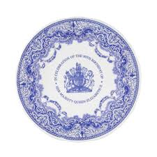 elizabeth ii s 90th birthday spode blue room 10 5 inch