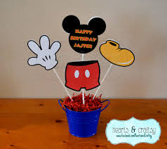 mickey mouse center pieces mickey mouse centerpiece cutouts personalized mickey mouse