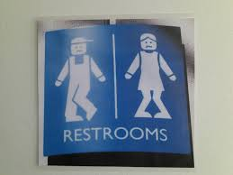 restroom signs when you u0027ve been on the road for two hours u2026 flickr