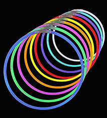 glow in the necklaces 50 premium 22 glow stick necklaces assorted colors