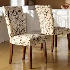 Large Dining Room Chair Covers Patterned Dining Room Chair Covers Home Design Plan