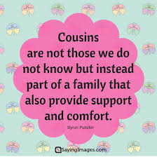 top 30 cousin quotes u0026 sayings sayingimages com