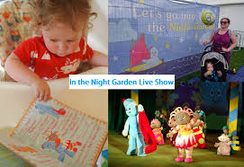 night garden live show review frenchie mummy