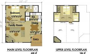 simple house floor plans small cabin with loft log