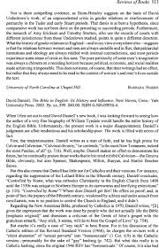 daniell david the bible in english its history and influence